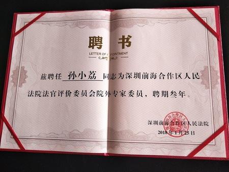 2深圳前海协作区人民法院法官评价委员会院中专家委员.jpg