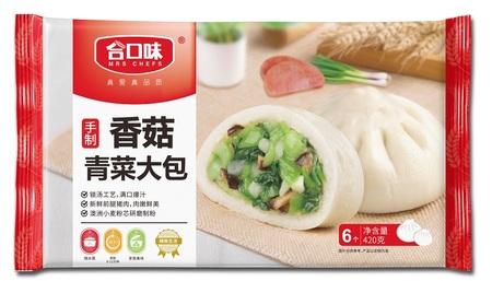 420g手制香菇青菜大包